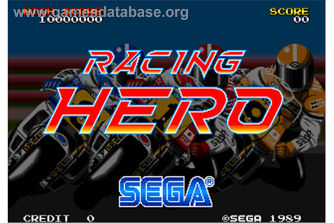 Racing Hero - Arcade - Games Database