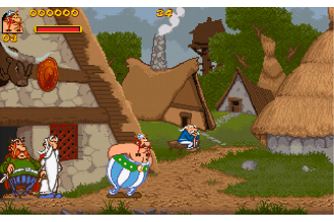 File:Asterix & Obelix - Beginning of the gameplay.png ...