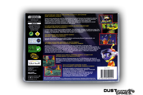Rocket Robot on Wheels N64 Nintendo 64 Game Case Box Cover ...