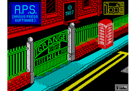 Grange Hill: The Computer Game (1987) by Binary Design ZX ...