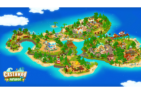 Town-Building Sim Castaway Paradise Comes To PS4 July 31 ...
