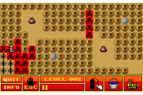 Ant Attack game at DOSGames.com