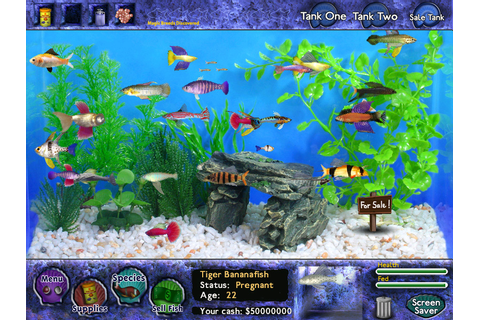 Fish Tycoon (2007) promotional art - MobyGames