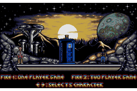 Super Adventures in Gaming: Doctor Who - Dalek Attack (MS-DOS)