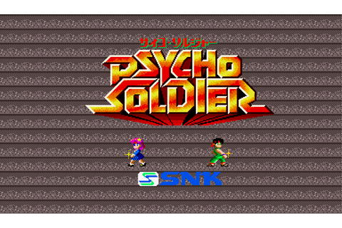 Psycho Soldier - Videogame by SNK