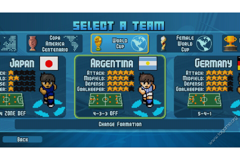 Pixel Cup Soccer 17 - Download Free Full Games | Sports games