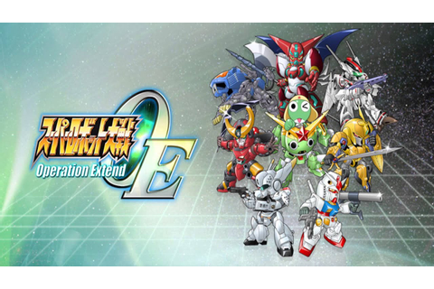 Super Robot Wars OE (Operation Extend) - Pomp and ...