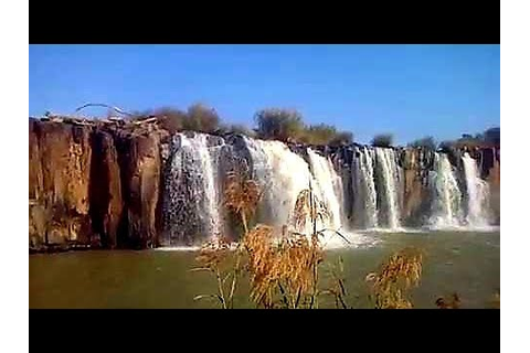 Waterfall - Hart Hill Falls - Tugela River - Colenso - YouTube