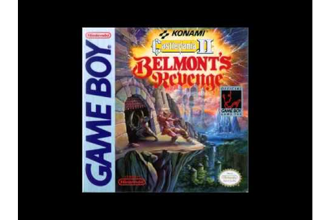 Castlevania 2 Belmont's Revenge ( Game Boy ) Cloud Castle ...