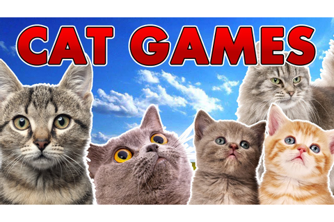 A Bunch of Cat Games - YouTube