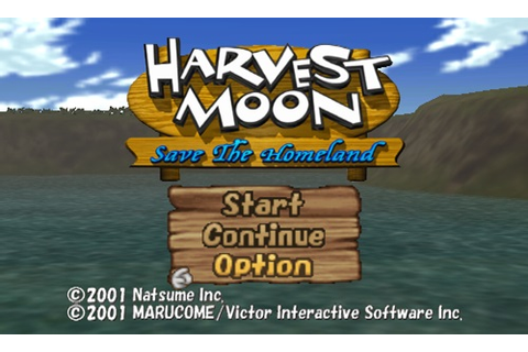 Harvest Moon Save The Homeland PS2 ISO - Download Game PS1 ...