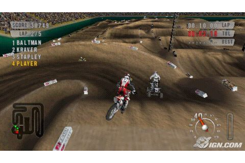 MX vs ATV On the Edge ISO PPSSPP – isoroms.com