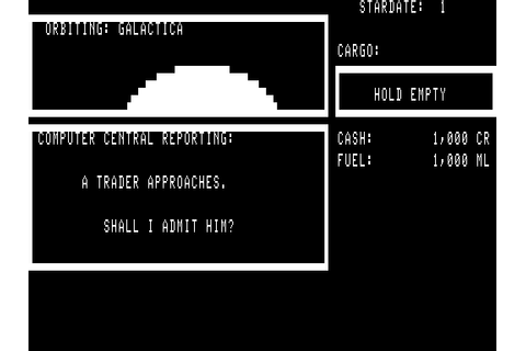 Galactic Trader Screenshots for TRS-80 - MobyGames
