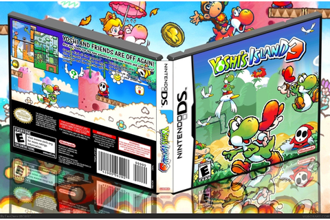 Yoshi's Island 3 Nintendo DS Box Art Cover by TrevOwnz