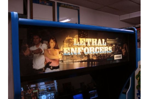Konami's Lethal Enforcers Arcade Game from 1992 - Overview ...