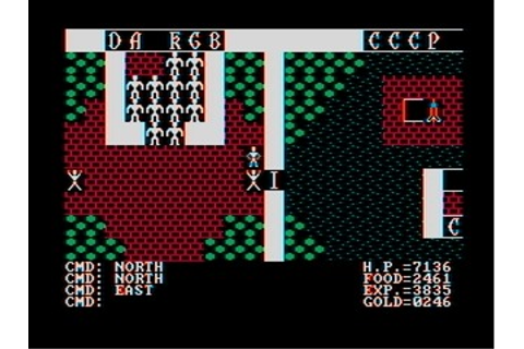 Ultima II: The Revenge of the Enchantress (DOS, Commodore ...
