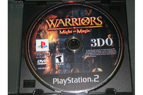 Playstation 2 - WARRIORS of Might and Magic (Game Only ...