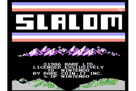 Download Slalom (NES) - My Abandonware
