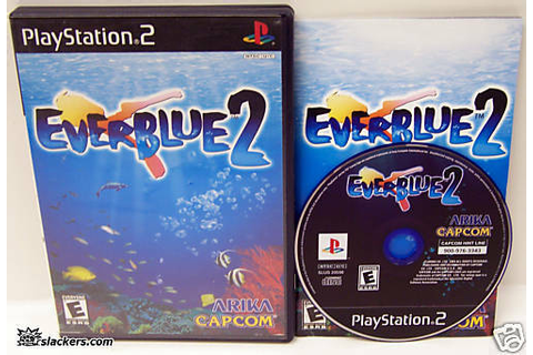 Everblue 2 (PlayStation 2) RARE & COMPLETE IN CASE ...