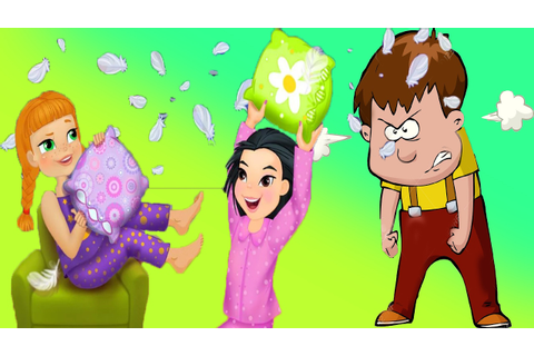 Pillow Fight Games - Oreo Pillow - Girls Games - Tabtale ...