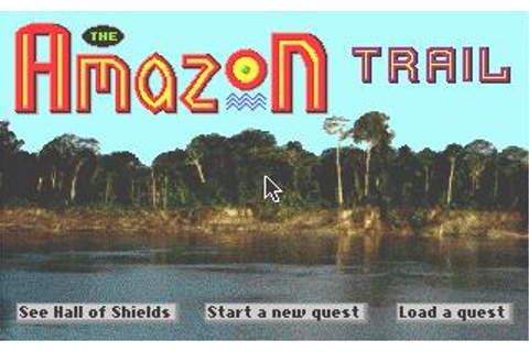 Amazon Trail, The Download (1996 Educational Game)