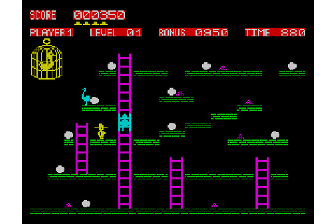 Chuckie Egg Spectrum vs. the BBC Micro - Retro Games Now
