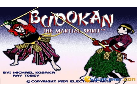 Budokan gameplay (PC Game, 1989) - YouTube