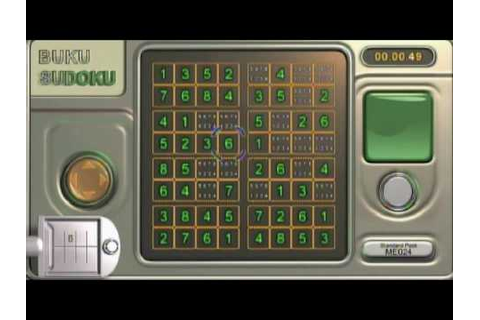 Buku Sudoku XBLA Gameplay - YouTube