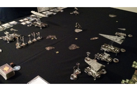 Miniature Insurrection: Star Wars Armada: Game 2