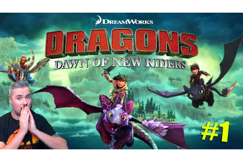 HOW TO TRAIN YOUR DRAGON - DAWN OF THE NEW RIDERS GAMEPLAY ...