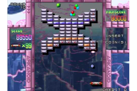 Retro streams Arkanoid Returns (Arcade) - YouTube