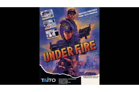Under Fire (Arcade OST) - Game Over - YouTube