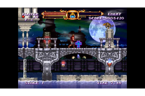 Castlevania The Adventure Rebirth Iso Download ...