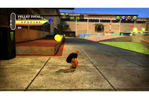 Tony Hawk Pro Skater HD Xbox Live Arcade gameplay - School ...