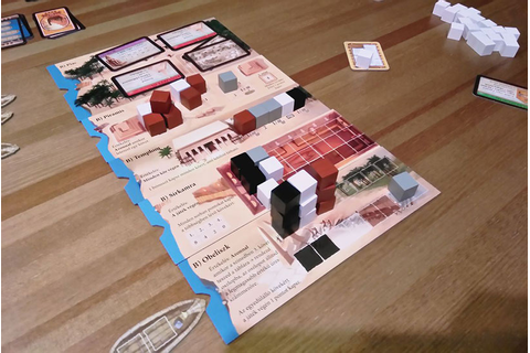 Imhotep Review | Board Games | Zatu Games UK | Seek Your ...