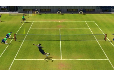 Virtua Tennis 2009: Gameplay PC(HD) - YouTube