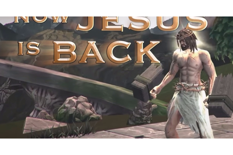Jesus beats up Buddha in the awful-looking Fight of Gods ...