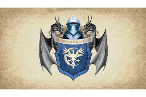 artwork, Paper, Coat Of Arms, Medieval, Crest, House Arryn ...
