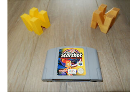 PAL N64: Starshot: Panique au Space Circus (FRA) Loose ...