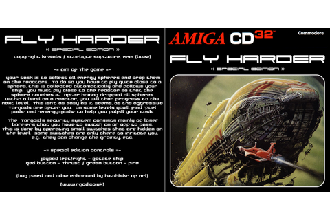 RGCD: Fly Harder CD32 (SE) (Amiga CD32)