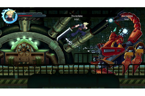 Final Fantasy VII: Re-Imagined as a 2D Side-scroller ...