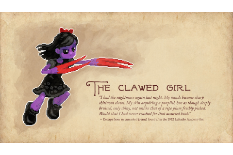 They Bleed Pixels - The Clawed Girl | Steam Trading Cards ...