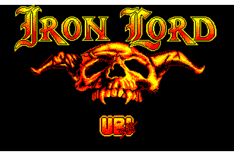 Iron Lord (1989) Amstrad CPC game