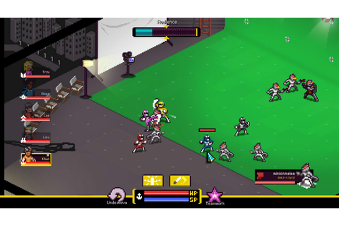 Chroma Squad PC Preview: It's Henshin Time! | USgamer