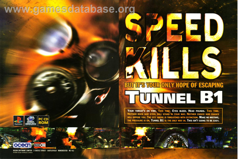 Tunnel B1 - Sega Saturn - Games Database