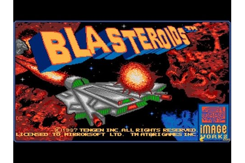 Blasteroids gameplay (PC Game, 1989) - YouTube