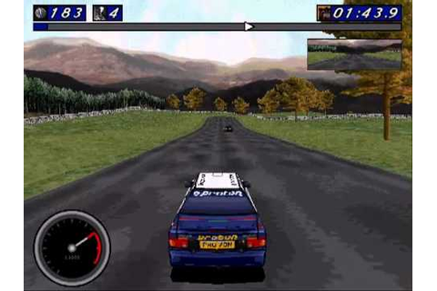 Network Q RAC Rally (1996) - Stage 1: Tatton Park - YouTube