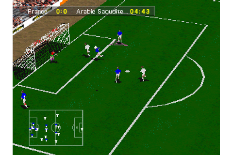 Olympic Soccer (1996) by U.S. Gold 3DO game