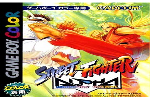 Street Fighter Alpha - Warriors' Dreams - Gameboy Color ...