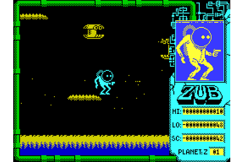 Zub (1986) by Binary Design ZX Spectrum game